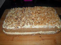 Maci kávés süti Hungarian Desserts, Hungarian Recipes, Cake Bars, Winter Food, Vanilla Cake, Tiramisu, Cookie Recipes, Mac, Food And Drink