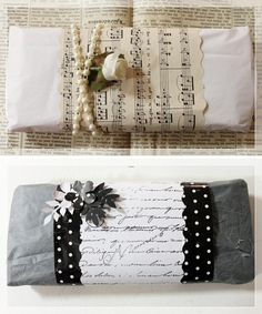 Design Crafts, Wraps, Presents, Gift Wrapping, Pretty, Gifts, Diy, Packaging, Ideas