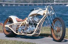 The Johnny Walker chopper is a custom motorcycle with a 93-cubic-inch S engine.