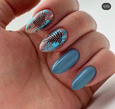Classy Nails, Stylish Nails, Simple Nails, Trendy Nails, Halloween Nail Designs, Halloween Nails, Halloween 2020, Shellac Nails, Acrylic Nails