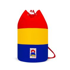 YKRA MINI DUFFLE BAG - LIMITED EDITION BAUHAUS COLLECTION Beach Gear, Small Shoulder Bag, Bauhaus, Retro Fashion, Sailor, Shopping Bag, Backpacks, Mini, Classic