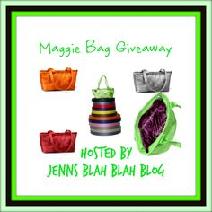 ENDS AT MIDNIGHT! HURRY AND JOIN NOW!! Win a Cicily Tote from Maggie Bags!  Open US