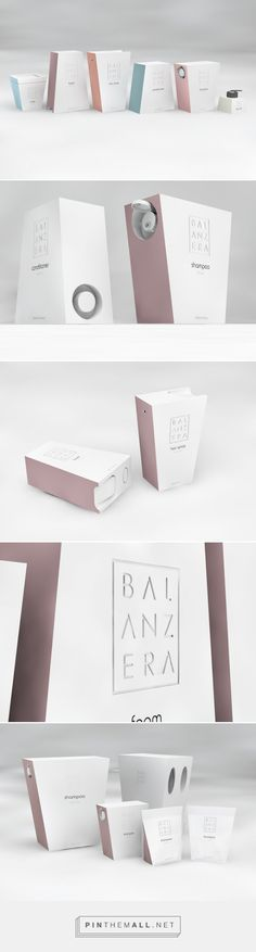 Balanzera #Cosmetic #concept #packaging by Elena Antoniou - http://www.packagingoftheworld.com/2015/01/balanzera-cosmetic-products-concept.html