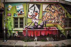 graffiti valparaiso arte urbano chile