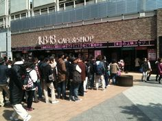 The exterior of AKB48 CAFE&SHOP in Akihabara.