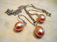 Pink Cultured Pearls