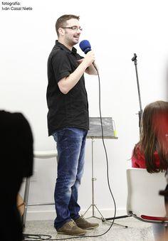 El pasado día 13 de Julio de 2012, con motivo de la inauguración de la exposición estructurARTE hemos contado con la actuación del gran cómico y monologuista Victor Grande.