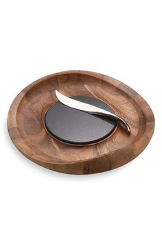 Nambé 'Butterfly' Cheese Tray & Knife available at #Nordstrom