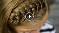 Düğümlü Saç Örgü Modeli, braid,hairstyle,braids styles,hair braid styles,braid hairstyles,braiding hairs,braid tutorials,braid review,braid video