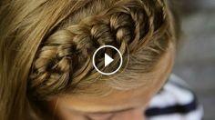 Düğümlü Saç Örgü Modeli, braid,hairstyle,braids styles,hair braid styles,braid hairstyles,braiding hairs,braid tutorials,braid review,braid video