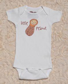 Organic Cotton Baby Clothing | Little Peanut | Baby Boy Bodysuit — Little Marsupials