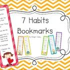 These 7 Habits bookmarks make great gifts for parents or students at the beginning of the year! Parents may not be familiar with the 7 Habits their...