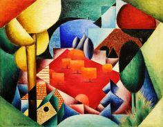 Jean Metzinger, Landscape