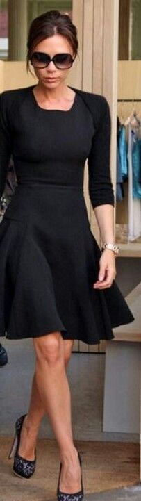 This little black dress is perfect!