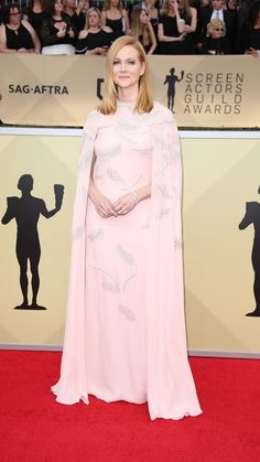 The more pink from Laura Linney, the better.