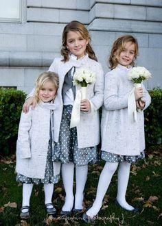 Chic flower girls