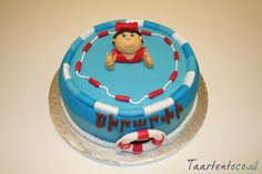 Zwembad taart  *Swimming pool cake