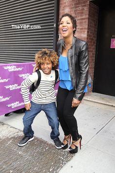 Toni Braxton and son!
