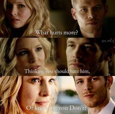By I think this quote is perfect for Klaroline . Iwanna say thank you one more time for feedback on my AUs. Vampire Diaries Wallpaper, Vampire Diaries Damon, Vampire Diaries Quotes, Vampire Diaries The Originals, Klaus And Caroline, Caroline Forbes, Delena, The Originals Camille, Tvd Quotes