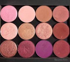 Cool and Warm Tone Eyeshadows | Single Eyeshadow | Eye makeup #eyemakeup #eyeshadow #makeup Pin: @amerishabeauty