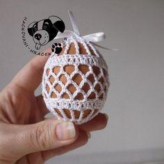 Velikonoce | Návody na háčkované hračky Crochet Chart, Crochet Motif, Free Crochet, Easter Egg Crafts, Easter Eggs, Easter Crochet Patterns, Tea Candles, Crochet Collar, Wedding Preparation