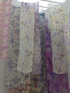 Textiles & Surface Design degree show 2012