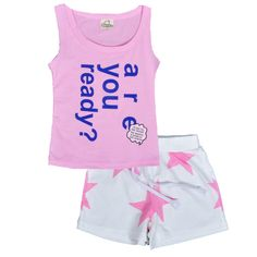 http://babyclothes.fashiongarments.biz/  summer baby girl clothing sets 2pcs letter t-shirt+star white short pants girls clothes 2017 new are you ready kids clothing set, http://babyclothes.fashiongarments.biz/products/summer-baby-girl-clothing-sets-2pcs-letter-t-shirtstar-white-short-pants-girls-clothes-2017-new-are-you-ready-kids-clothing-set/, 			Description		 			Products: summer baby girl clothing sets 2pcs letter t-shirt+star white short pants girls clothes 2017 new are you ready kids…