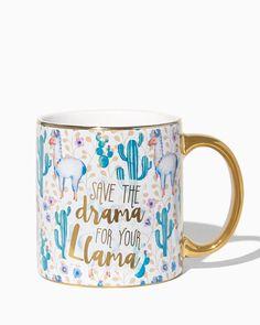 Drama Llama Mug | Charming Charlie