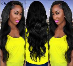 8A Brazilian Virgin Body Wave Human Hair Extensions 4 Bundles/400g Hair Weave #Orangestar #WaveBundle