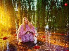 Lara Stone by Ryan McGinley in British Vogue Sept 2012