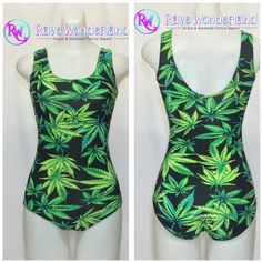 Women's Weed Cannabis Bodysuit ($16) ❤ liked on Polyvore featuring intimates, shapewear, bodysuits, grey and women's clothing