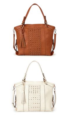 8c65535d08b4 125 Best Fashion ba gs images   Leather totes, Wallet, Beige tote bags