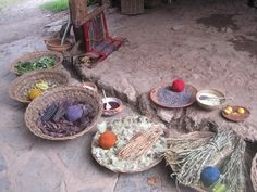 Materials for Natural Dyes in Chinchero (Photo: Fidelus)