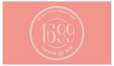Logo marca vintage de perfumes especiales con frases divertidas by Paula Durbá…