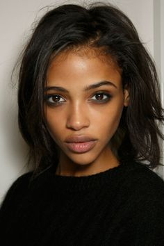 runway-report:  Aya Jones backstage at Burberry Prorsum RTW F/W...