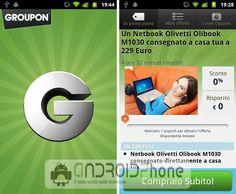 Applicazione Groupon per Android: trova le migliori offerte in rete