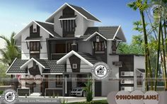 new home design photo with simple modern house elevation using ground floor front elevation for small house and manor house paint color 2 Storey House Design, House Front Design, Small House Design, Modern House Design, New Model House, Model House Plan, Indian Home Design, Kerala House Design, Front Elevation Designs