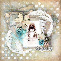 Happy smile♪: My Creative Scrapbook Kit December Label ~My Last DT work