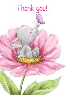 Elephant nursery art printable for your baby nursery. Elephant Art, Elephant Nursery, Cute Elephant, Nursery Art, Baby Animal Drawings, Cute Drawings, Baby Art, Cute Illustration, Flower Cards