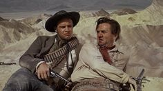"Marlon Brando & Karl Malden in ""One Eyed Jacks"""