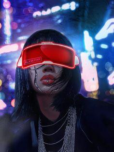 Cyberpunk 2077, Cyberpunk Girl, Arte Cyberpunk, Cyberpunk Character, Cyberpunk Fashion, Cyberpunk Aesthetic, Neon Aesthetic, Photographie Portrait Inspiration, Arte Robot