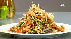 Seafood Pad Thai Noodles - Sanjeev Kapoor's Kitchen.