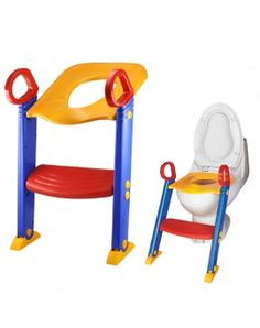 Foldable Baby Toddler Kids Potty Training Seat Chair Toilet Ladder Seat Steps UK in Baby, Potty Training Potty Training Seats, Toddler Potty Training, Toilet Training, Potty Seat, Toddler Toilet, Kids Toilet, Baby Toilet Seat, Toilet Chair, Toilet Step