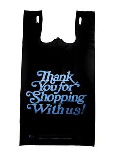 Plastic Bag-Black T-shirt Bags- Heavy Duty Oversized Thank you Bag - 21 microns Thank You Bags, Plastic Bags, Package Design, Singapore, Kitchen Dining, 21st, Delivery, Reusable Tote Bags, Packaging