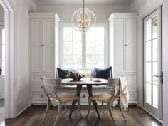 breakfast nook | Ryan Street & Associates