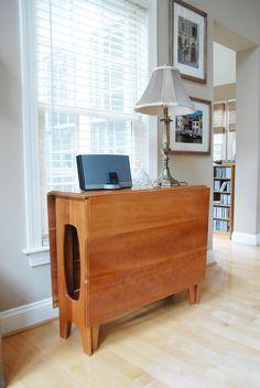 Mesa dobrável ou retrátil para ambientes pequenos | Click Obra