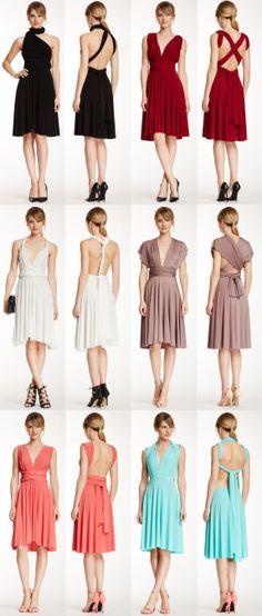 Transformer wrap dress - wear it so many ways!