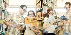 Libraries: the new go-to destination for maternity photos