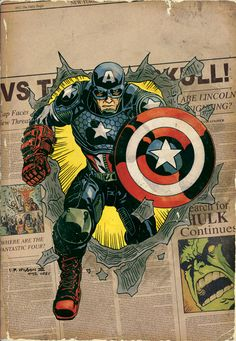 Marvel NOW! Comic Book Variant Covers Inspired by Jack Kirby