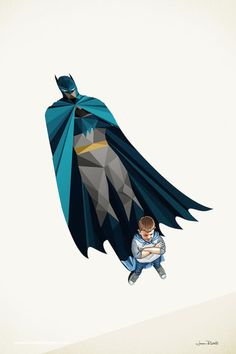 "Artist Jason Ratliff created this great geek art series called ""Super Shadows."" Each of the illustrations feature children imagining themselves as superheroes, and the shadows reveal their inner hero. Comic Kunst, Comic Art, Comic Books, Shadow Illustration, Creative Illustration, Heroes Disney, Marvel Dc, Hero Squad, Super Shadow"